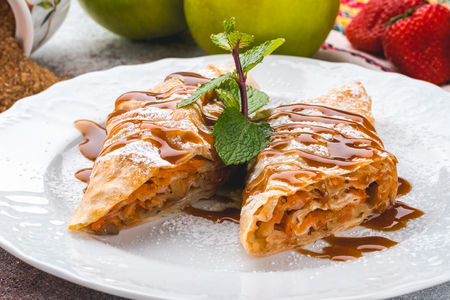 Десерт Баница с тиква