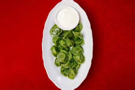Пельмени Луговые со шпинатом