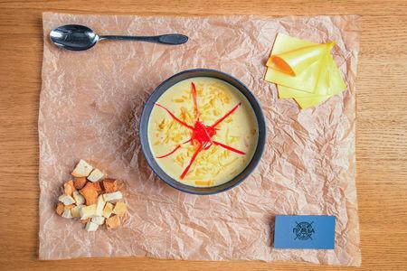 Сырный крем-суп