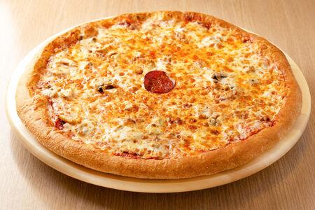 Пицца Пепперони и грибы