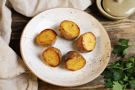 Картофель, запеченный на гриле