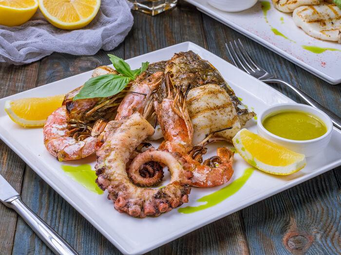 Плато из морепродуктов