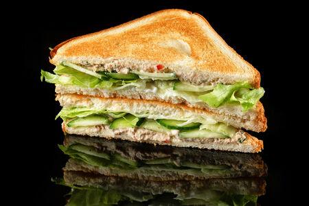 Сэндвич с паштетом из тунца