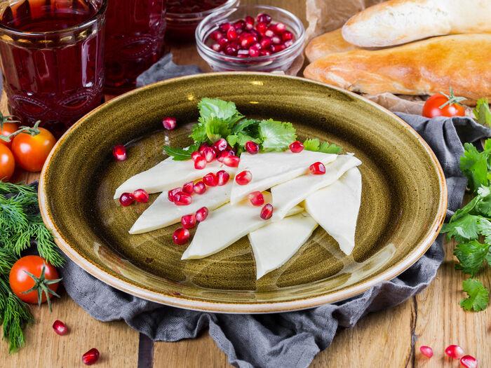 Домашний сыр сулугуни