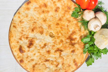 Осетинский пирог с капустой и яйцом (1200 г)