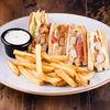 Фото к позиции меню Клаб-сэндвич с курицей