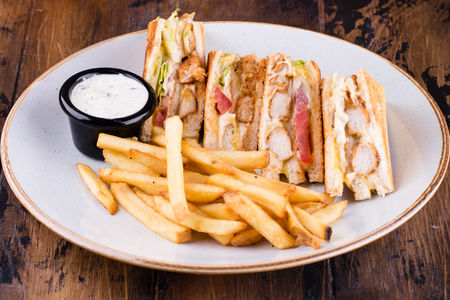 Клаб сэндвич с курицей