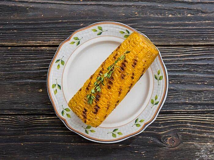 Початок сладкой кукурузы