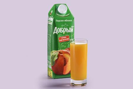 Сок Добрый персиковый