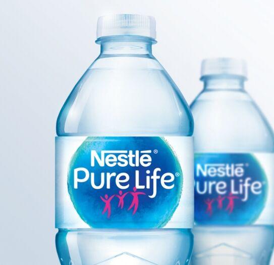 Вода nestle pure life