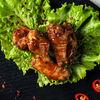 Фото к позиции меню Куриные крылья барбекю