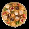 Фото к позиции меню Набор мини-пирожных от шеф-кондитера