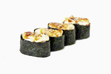 Суши запеченные с морепродуктами