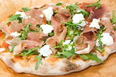 Пицца Пино Парма с сыром буррата