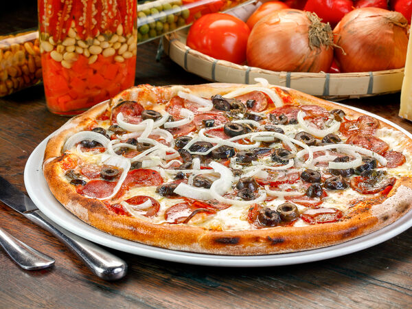 Grill & pizza