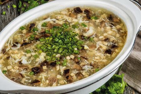 Суп с дуфу и мясом