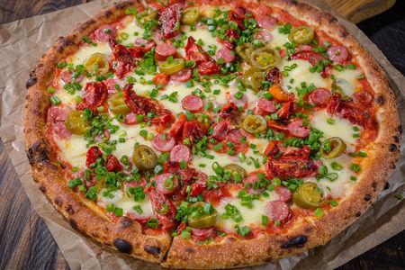 Пицца Копченые колбаски