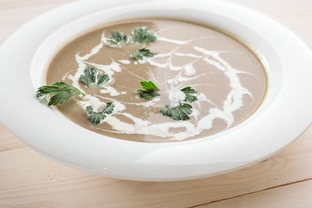 Суп Крем-капучино с грибами
