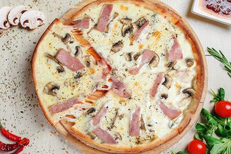 Пицца Ветчина и грибы малая