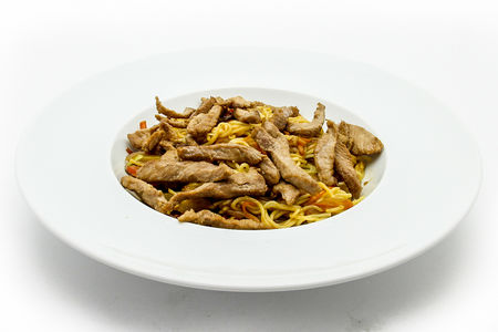Лапша со свининой