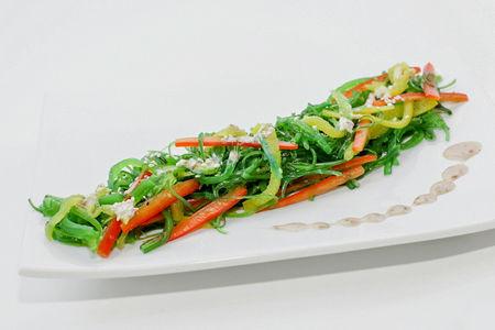 Салат Кайсо Сарада с овощами