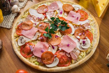 Пицца Деревенская малая