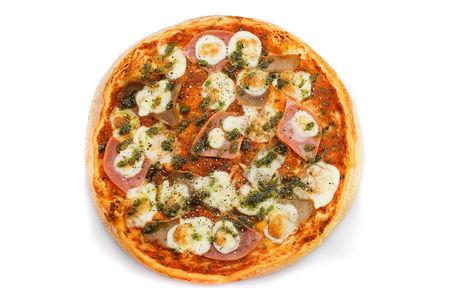 Пицца Классическая Мясная с чесноком
