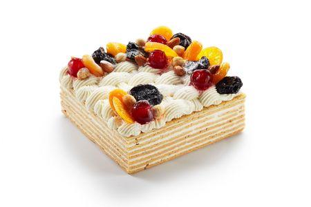 Торт Самоцветы Севера со сметанным кремом