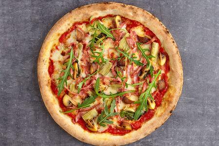 Пицца Капричоза с ветчиной