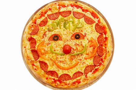 Киндер-пицца
