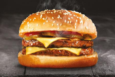 Биг дабл Чизбургер