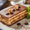 Фото к позиции меню Шоколадно-ореховый торт