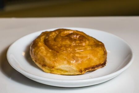 Сербский  бурек со шпинатом и сыром