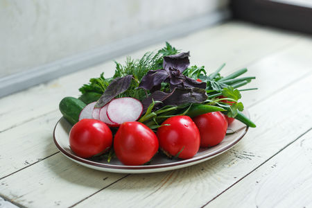 Ассорти из бакинских овощей