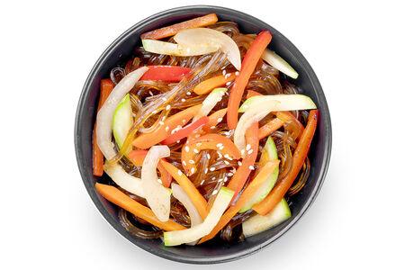 Вок Харусаме с овощами