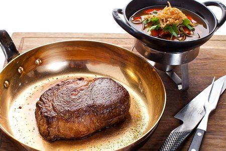 Японское мраморное мясо Кобе
