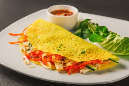 Вьетнамский омлет