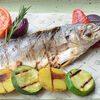 Фото к позиции меню Филе сибаса с овощами