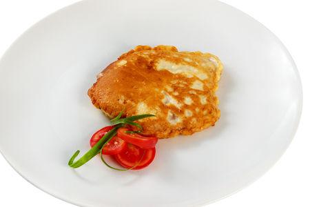 Отбивная куриная в сырном кляре