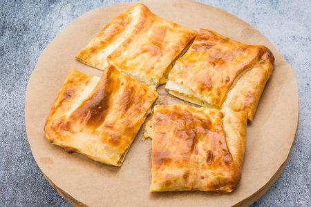 Домашний пирог с картофелем