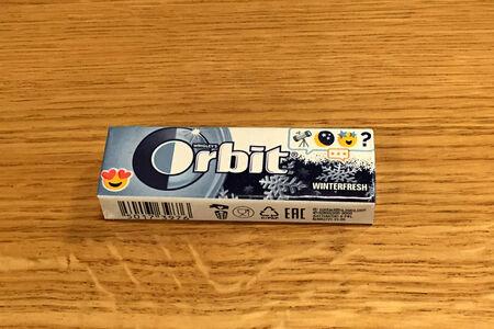 Жевательная резинка Orbit Winter fresh
