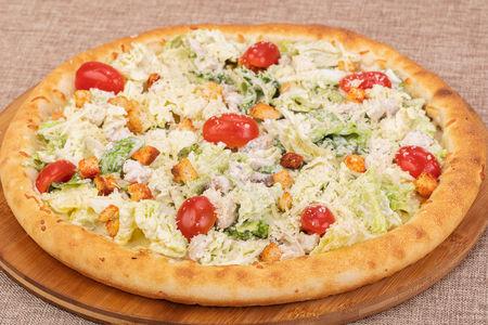 Пицца Цезарь де-люкс с креветками