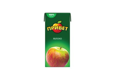 Сок Привет Яблочный