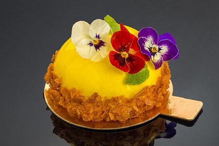 Суфле манго-маракуйя