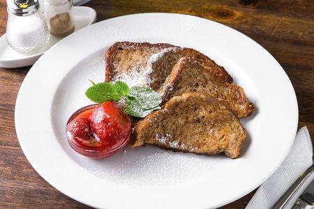 Французские тосты с ягодным вареньем