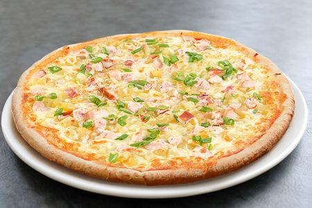 Пицца с картофелем и курицей маленькая
