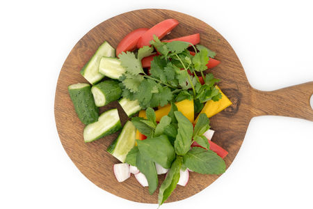Свежие сезонные овощи