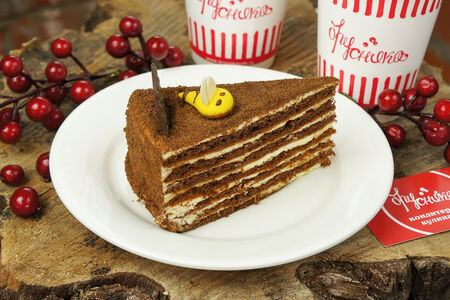 Торт Шоколадный Медовик