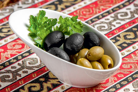Греческие маслины, оливки