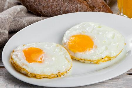 Яичница Два яйца